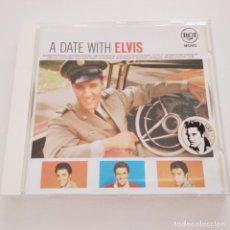 CDs de Música: CD A DATE WITH ELVIS. ELVIS PRESLEY. RCA ALEMANIA GERMANY. Lote 182560967