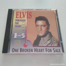 CDs de Música: CD THROUGH THE YEARS VOLUME 13. ONE BROKEN HEART FOR SALE. ELVIS PRESLEY. Lote 182561261