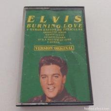CDs de Música: CASETE BURNING LOVE. ELVIS PRESLEY. Lote 182561337