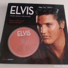 CDs de Música: LIBRO CD ELVIS. MICHAEL HEATLEY, DEKE LEONARD. EDITORIAL CÚPULA. ELVIS PRESLEY. Lote 182561400