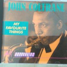 CDs de Música: JOHN COLTRANE- MY FAVORITE THINGS (JAZZ COLLECTION). Lote 182578713