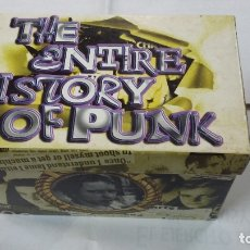 CDs de Música: THE ENTIRE HISTORY OF PUNK. LOTE COLECCION DE 20 CD'S. TDKV39. Lote 182588105