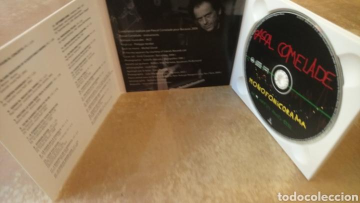 CDs de Música: PASCAL COMELADE - MONOFONICORAMA BEST OFF 2005 - 1992. CD DIGIPACK PERFECTO ESTADO - Foto 2 - 182611710