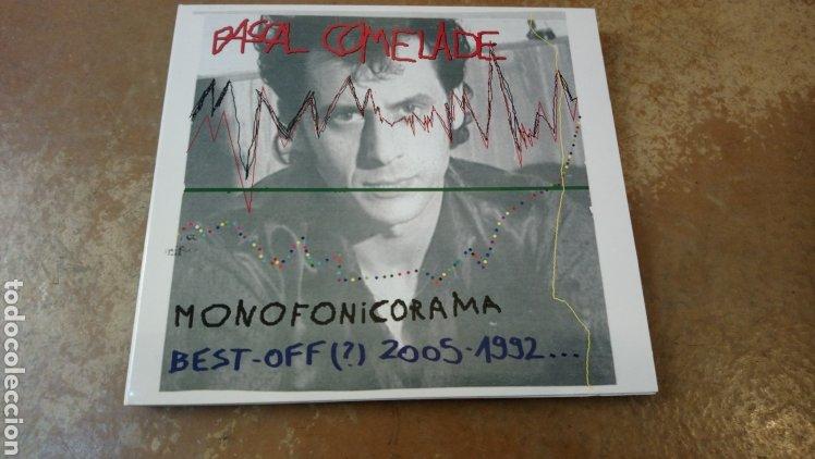 PASCAL COMELADE - MONOFONICORAMA BEST OFF 2005 - 1992. CD DIGIPACK PERFECTO ESTADO (Música - CD's Jazz, Blues, Soul y Gospel)