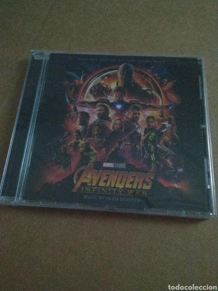 DARK AVENGERS INFINITY WAR BSO - CD PRECINTADO!! (Música - CD's Bandas Sonoras)