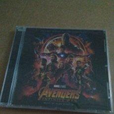 CDs de Música: DARK AVENGERS INFINITY WAR BSO - CD PRECINTADO!!. Lote 182612460