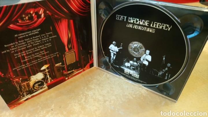 CDs de Música: Soft Machine Legacy–Live Adventures . CD digipack perfecto estado. Jazz - rock - Foto 2 - 182614306