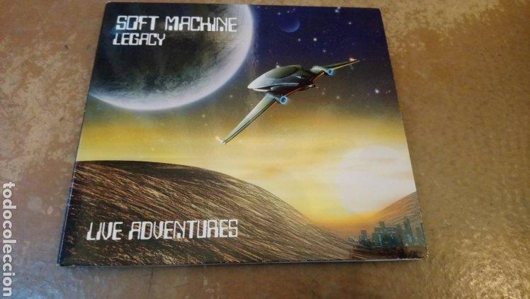 SOFT MACHINE LEGACY–LIVE ADVENTURES . CD DIGIPACK PERFECTO ESTADO. JAZZ - ROCK (Música - CD's Jazz, Blues, Soul y Gospel)