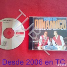 CDs de Música: TUBAL DUO DINAMICO 30 GRANDES MOMENTOS DE EXITO CD BUEN ESTADO ENVIO 2,35 € 2019 CD1. Lote 182617463