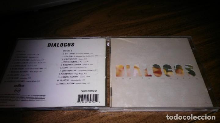 DIALOGOS CON LA MUSICA (2CD - BMG 1994) SELECCION DE RAMON TRECET (Música - CD's New age)