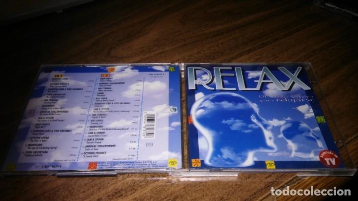 VARIOS ARTISTA NEW AGE - RELAX (CBS/SONY 1994) 2CD (Música - CD's New age)