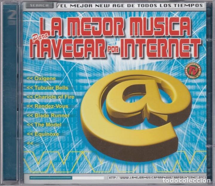 LA MEJOR MÚSICA PARA NAVEGAR POR INTERNET - 2XCD (Música - CD's New age)