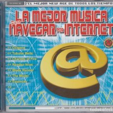 CDs de Música: LA MEJOR MÚSICA PARA NAVEGAR POR INTERNET - 2XCD. Lote 182626678