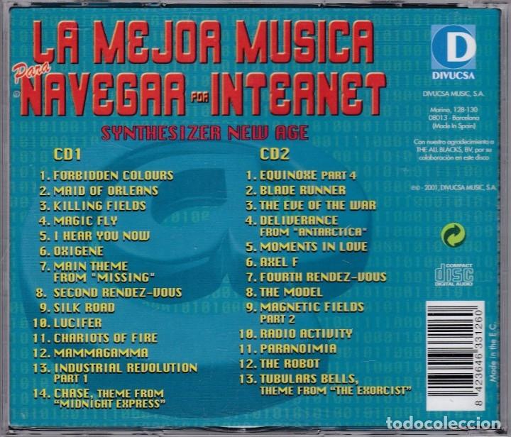 CDs de Música: La mejor música para navegar por internet - 2xCD - Foto 2 - 182626678