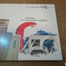 CDs de Música: HAL GALPER, JOHN SCOFIELD ‎– IVORY FOREST - CD DIGIPACK PERFECTO ESTADO. Lote 182629795