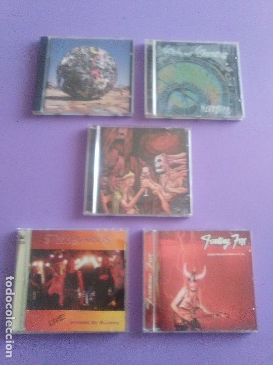 LOTE 5 CDS. PARKING FOX(DESTRUCCION+I.V.A)STRATOVARIUS(LIVE)ANTHRAX/WITHOUT WARNING/THE GRIFTERS. (Música - CD's Heavy Metal)