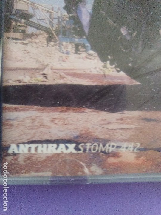 CDs de Música: LOTE 5 CDS. PARKING FOX(DESTRUCCION+I.V.A)STRATOVARIUS(LIVE)ANTHRAX/WITHOUT WARNING/THE GRIFTERS. - Foto 9 - 182634008