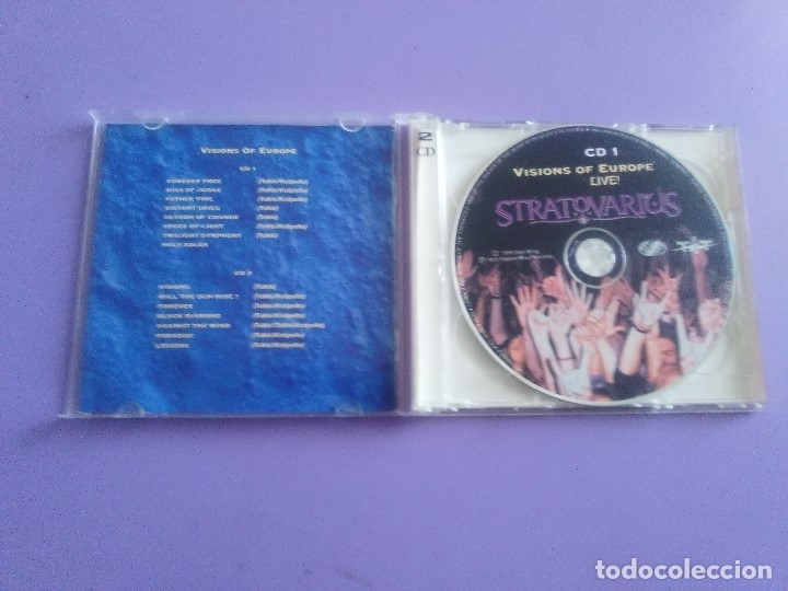 CDs de Música: LOTE 5 CDS. PARKING FOX(DESTRUCCION+I.V.A)STRATOVARIUS(LIVE)ANTHRAX/WITHOUT WARNING/THE GRIFTERS. - Foto 24 - 182634008