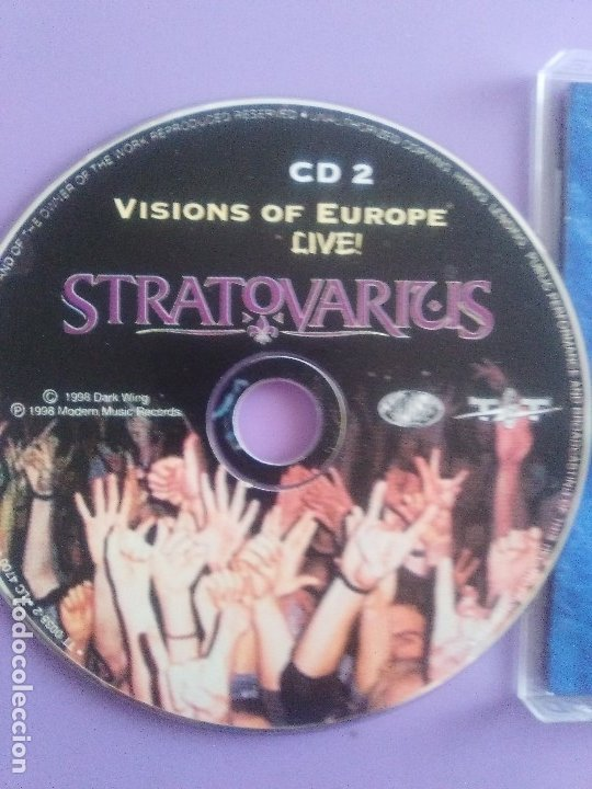 CDs de Música: LOTE 5 CDS. PARKING FOX(DESTRUCCION+I.V.A)STRATOVARIUS(LIVE)ANTHRAX/WITHOUT WARNING/THE GRIFTERS. - Foto 26 - 182634008