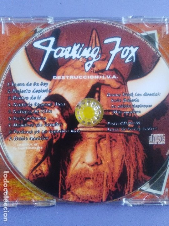 CDs de Música: LOTE 5 CDS. PARKING FOX(DESTRUCCION+I.V.A)STRATOVARIUS(LIVE)ANTHRAX/WITHOUT WARNING/THE GRIFTERS. - Foto 35 - 182634008