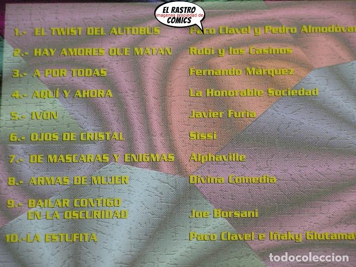 CDs de Música: Tributo a los 80, Pedro Almodóvar, Paco Clavel, Iñaki Glutamato, Sissi, Divina Comedia..., CD - Foto 2 - 182634686