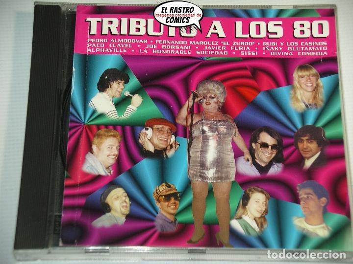 TRIBUTO A LOS 80, PEDRO ALMODÓVAR, PACO CLAVEL, IÑAKI GLUTAMATO, SISSI, DIVINA COMEDIA..., CD (Música - CD's Pop)