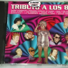 CDs de Música: TRIBUTO A LOS 80, PEDRO ALMODÓVAR, PACO CLAVEL, IÑAKI GLUTAMATO, SISSI, DIVINA COMEDIA..., CD . Lote 182634686