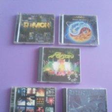 CDs de Música: LOTE 5 CDS.POISON(SWALLOW THIS LIVE)DEMON(MIDNIGHT FUNK)BOB JOVI(LIVE)GAMMA RAY(INSANITY../ANTESTOR. Lote 182637362