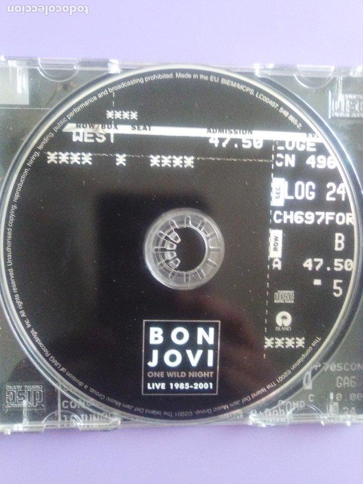 CDs de Música: LOTE 5 CDS.POISON(SWALLOW THIS LIVE)DEMON(MIDNIGHT FUNK)BOB JOVI(LIVE)GAMMA RAY(INSANITY../ANTESTOR - Foto 19 - 182637362