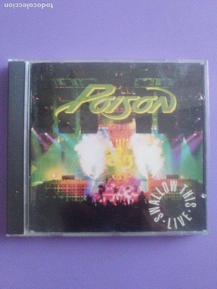 CDs de Música: LOTE 5 CDS.POISON(SWALLOW THIS LIVE)DEMON(MIDNIGHT FUNK)BOB JOVI(LIVE)GAMMA RAY(INSANITY../ANTESTOR - Foto 26 - 182637362