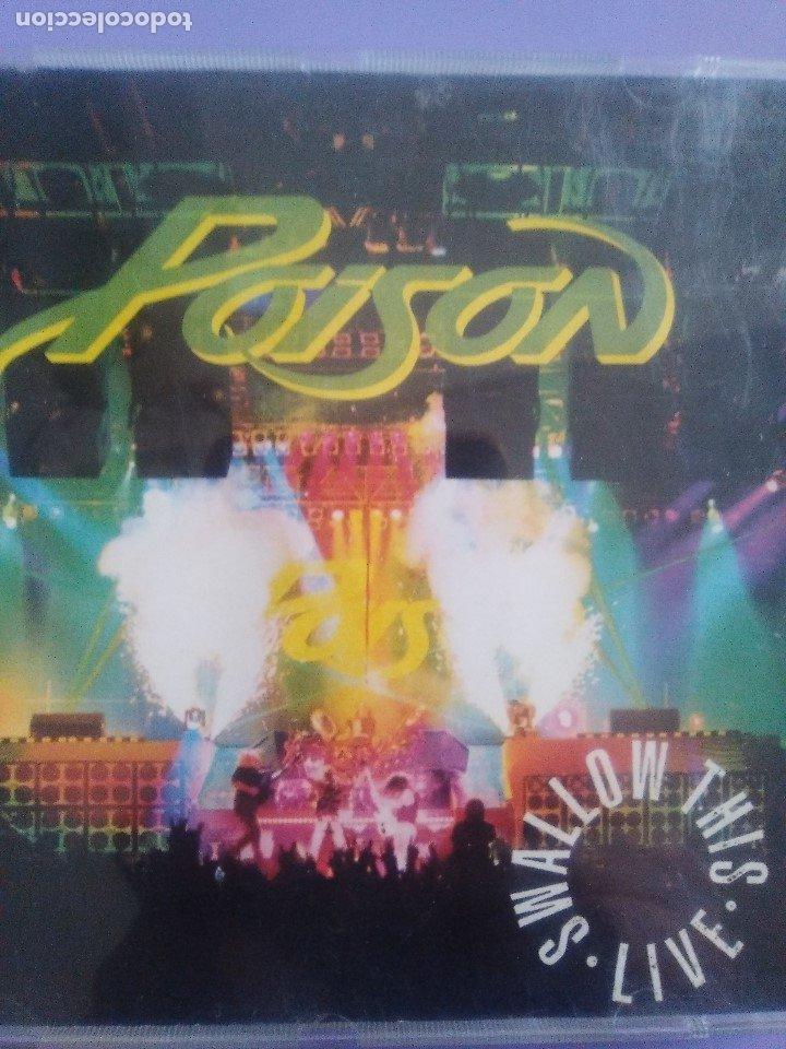 CDs de Música: LOTE 5 CDS.POISON(SWALLOW THIS LIVE)DEMON(MIDNIGHT FUNK)BOB JOVI(LIVE)GAMMA RAY(INSANITY../ANTESTOR - Foto 27 - 182637362