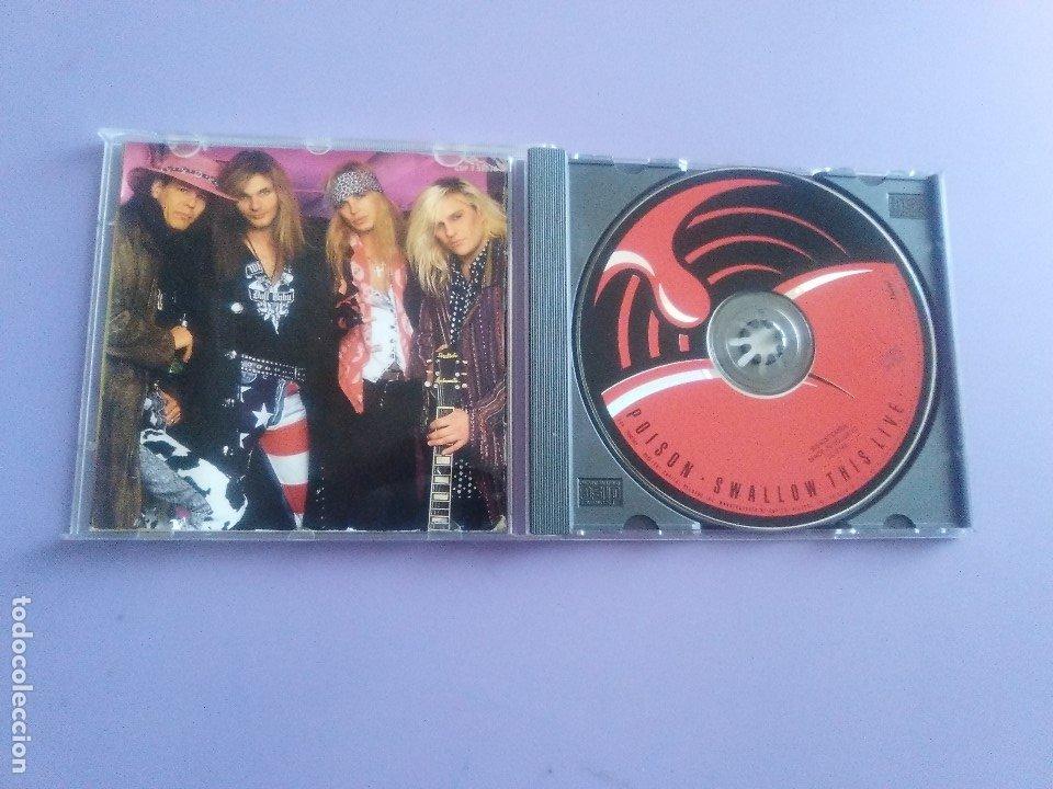 CDs de Música: LOTE 5 CDS.POISON(SWALLOW THIS LIVE)DEMON(MIDNIGHT FUNK)BOB JOVI(LIVE)GAMMA RAY(INSANITY../ANTESTOR - Foto 30 - 182637362