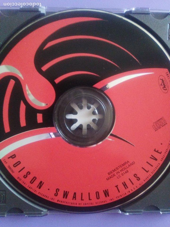 CDs de Música: LOTE 5 CDS.POISON(SWALLOW THIS LIVE)DEMON(MIDNIGHT FUNK)BOB JOVI(LIVE)GAMMA RAY(INSANITY../ANTESTOR - Foto 32 - 182637362