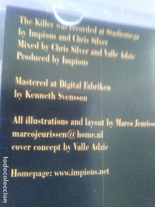 CDs de Música: LOTE 5 CDS. SCORPIONS(CLASSIC BITES)BON JOVI(LIVE Y CRUSH)LIMP BIZKIT/IMPIOUS(THE KILLER) - Foto 19 - 182639565
