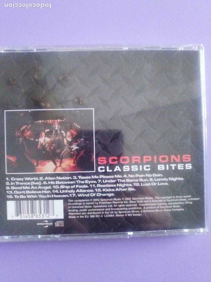 CDs de Música: LOTE 5 CDS. SCORPIONS(CLASSIC BITES)BON JOVI(LIVE Y CRUSH)LIMP BIZKIT/IMPIOUS(THE KILLER) - Foto 28 - 182639565