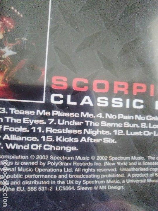 CDs de Música: LOTE 5 CDS. SCORPIONS(CLASSIC BITES)BON JOVI(LIVE Y CRUSH)LIMP BIZKIT/IMPIOUS(THE KILLER) - Foto 30 - 182639565