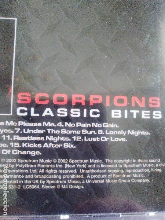 CDs de Música: LOTE 5 CDS. SCORPIONS(CLASSIC BITES)BON JOVI(LIVE Y CRUSH)LIMP BIZKIT/IMPIOUS(THE KILLER) - Foto 31 - 182639565