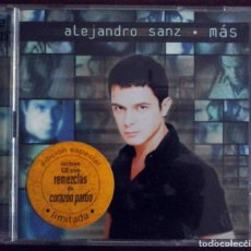 CDs de Música: CD - ALEJANDRO SANZ - MAS. Lote 182639678