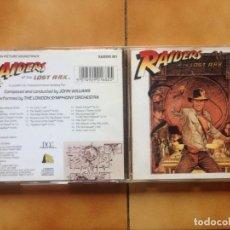 CD de Música: BSO - INDIANA JONES - RAIDERS OF THE LOST ARK (1981) - CD CONCORD NUEVO - JOHN WILLIAMS. Lote 182643852