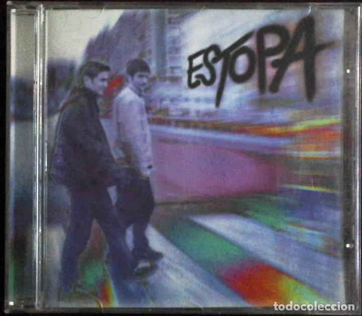 CD ESTOPA. SU PRIMER ÁLBUM ( TU CALORRO, LA RAJA DE TU FALDA, ME FALTA EL ALIENTO, TAN SOLO...) (Música - CD's Pop)