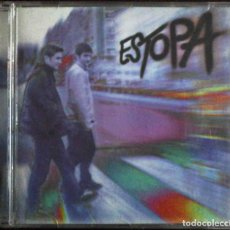 CDs de Música: CD ESTOPA. SU PRIMER ÁLBUM ( TU CALORRO, LA RAJA DE TU FALDA, ME FALTA EL ALIENTO, TAN SOLO...). Lote 182644255
