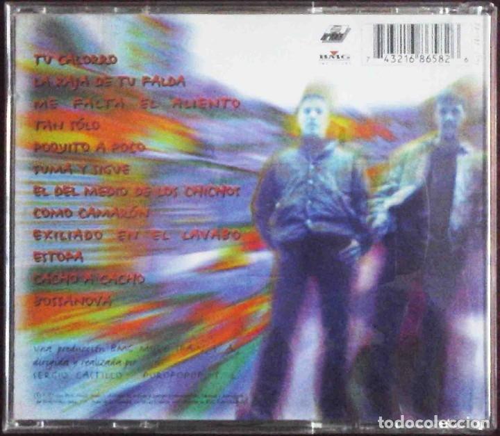 CDs de Música: CD Estopa. Su primer álbum ( Tu calorro, La raja de tu falda, Me falta el aliento, Tan solo...) - Foto 2 - 182644255