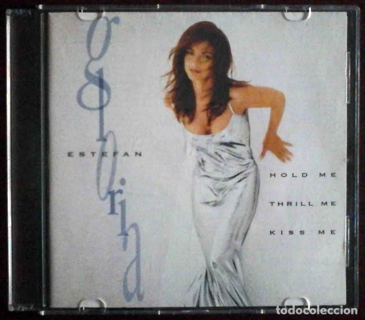 CD GLORIA ESTEFAN - HOLD ME, THRILL ME, KISS ME. (Música - CD's Latina)