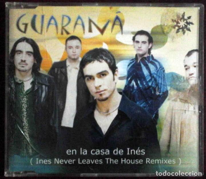 CD GUARANÁ - EN LA CASA DE INÉS / AY, CARMELA... (Música - CD's Pop)