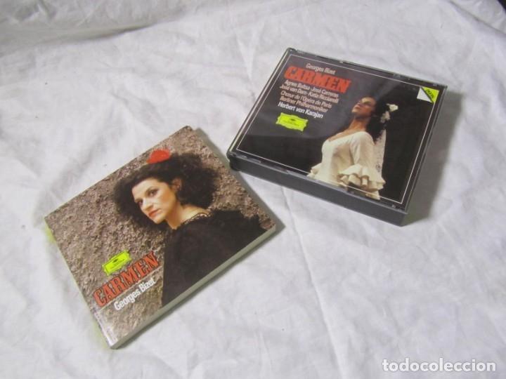 CDs de Música: Caja con 3 CDs + libro Carmen, Georges Bizet. Deutsche Grammophon - Foto 5 - 182644903