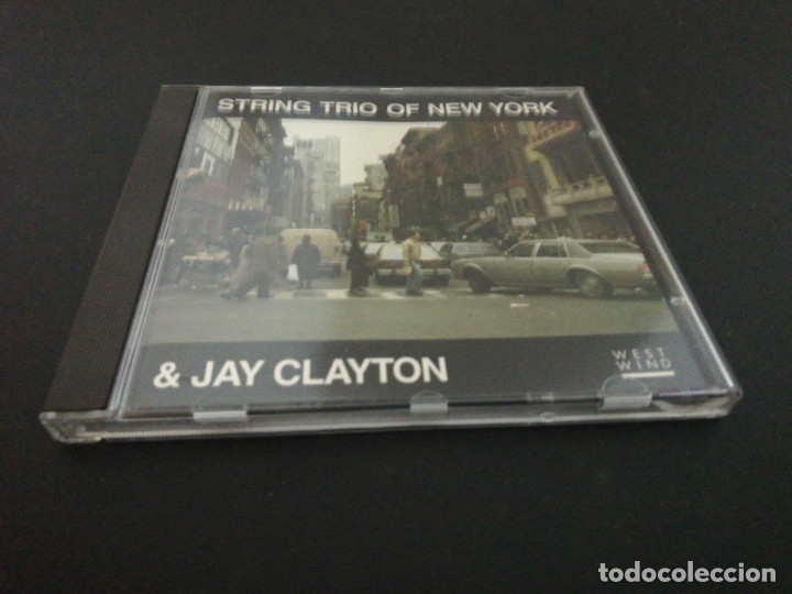CDs de Música: String trio of new york & Jay clayton - Foto 1 - 182651843