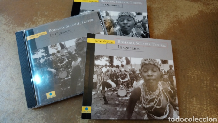 CDs de Música: Romano, Sclavis, Texier,Le Querrec–Carnet De Routes . CD + libro. Buen estado - Jazz - Foto 2 - 182667813