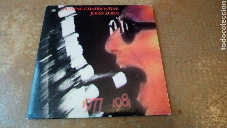 EUGENE CHADBOURNE,JOHN ZORN–1977 1981 . CD. JAZZ (Música - CD's Jazz, Blues, Soul y Gospel)