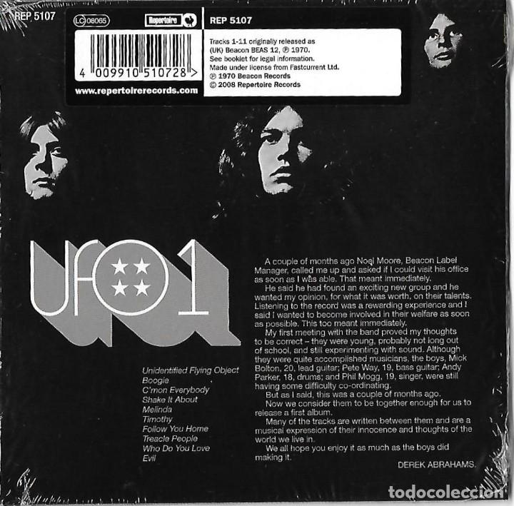 CDs de Música: UFO: UFO 1. CLÁSICO 1º ALBUM. EXCELENTE HARD ROCK BRITÁNICO CON TOQUE PROGRESIVO - Foto 2 - 182673076