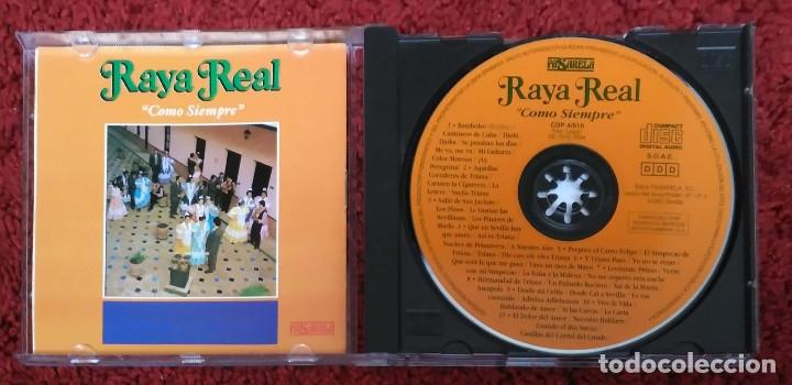 CDs de Música: RAYA REAL (COMO SIEMPRE) CD 1994 - Foto 3 - 182673112